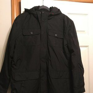 Mens hawke & Co outfitter 3 in 1 coat jacket Large